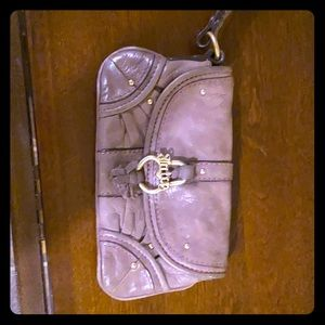 Purple juicy couture clutch